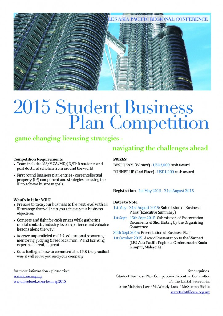 Student Business Plan